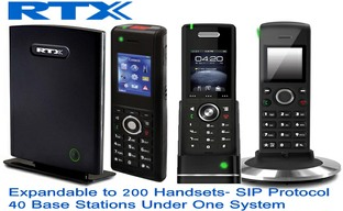 RTX Wirelss Dect Phone